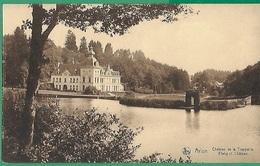 ! - Belgique - Arlon - Château De La Trapperie - Etang Et Château - Arlon