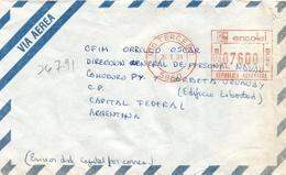 UNAVEM II 1991 Angola Argentina Military Peacekeeping Cover Sent By Diplomatic Pouch - Angola