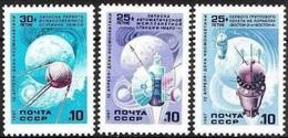 1987  Mi.5698-700 (**) - 1923-1991 URSS