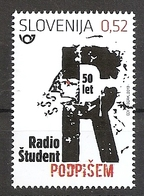 SLOVENIA 2019,50 YEARS OF RADIO STUDENT,MNH - Slovénie