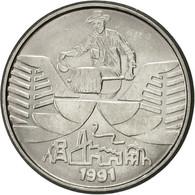 Monnaie, Brésil, 10 Cruzeiros, 1991, SUP, Stainless Steel, KM:619.1 - Brésil