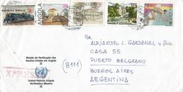 UNAVEM II 1991 Angola Argentina Military Peacekeeping Express Cover - Angola