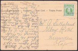 NZ Postcard 1/2d KEVII Rural Trees Scene. - 1855-1907 Colonie Britannique