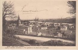 CPA Cabara - Vue Générale Et La Plaine De La Dordogne - France