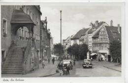 AK 0191  Zeitz - Partie Am Rathaus / Ostalgie , DDR Um 1953 - Zeitz