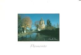 "3008 "" PIEMONTE - TORINO - BASILICA DI SUPERGA - FOTO DI CLAUDIO PENNA "" CART. POS.OR. NON SPED. - Chiese"