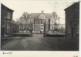 "Leuth "" Château Du Comte Vilain XIIII - Carte Photo 1951 Ancien Photo - Maasmechelen"