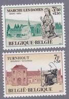 1971 Nr 1571-72** Zonder Scharnier. (gom Van De Jaren '70).Filantropische Uitgifte. - Belgique
