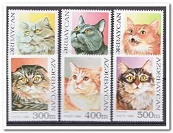 Azerbeidzjan 1995, Postfris MNH, Cats - Azerbeidzjan