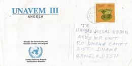 UNAVEM III 1997 Angola Bangladesh Military Peacekeeping Cover - Angola