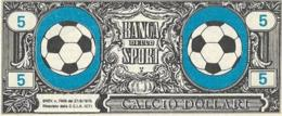 FIGURINA CALCIO DOLLARI RITMO CALTAGIRONE  ANNI '60 - Calcio