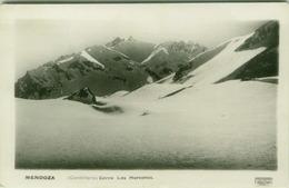 ARGENTINA - MENDOZA - CORDILLERA - CERRO LOS HORCONES - PHOTO 1948 ( BG2898) - Argentine