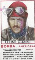 Figurina Bomba Americana Anni 50 Gianni Leoni-Pilota - Sport