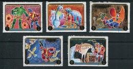 ADVENTURES OF BARON MUNCHHAUSEN - AJMAN MICHEL 1021 / 1025 OBLITERES SERIE - LILHU - Contes, Fables & Légendes
