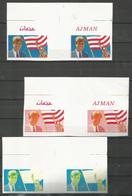 AJMAN - MNH - Famous People - Kennedy - Proof - Kennedy (John F.)