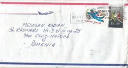 UNAVEM III 1995 Angola Romania Field Hospital Military Peacekeeping Cover - Angola