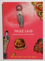 RELIGION / Objets Religieux - Vierge - Musée Art Sacré Du Gard - Carte Publicitaire Expo Bondieuseries Et Jésus Kitsch - Vierge Marie & Madones