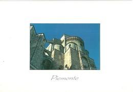 """3011 """" PIEMONTE - TORINO - LA SAGRA S. MICHELE - FOTO DI CLAUDIO PENNA """" CART. POS.OR. NON SPED. - Chiese"""
