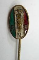 Vecchia Spilla Distintivo PNF Fascio Fascismo Old Pin Fascista - Militari