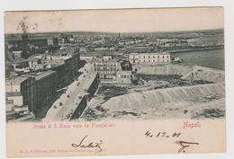 NAPOLI, Strada Di S. Lucia Vista Da Pizzafalcone,  Ediz. De Simone  44   - F.p. - Fine '1800 - Napoli