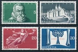 281-284 / 496-499 Serie Postfrisch/** - Unused Stamps