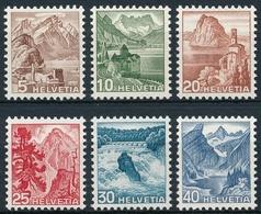 285-290 / 500-505 - Serie - Einwandfrei Postfrisch/** - Unused Stamps