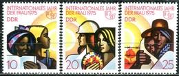 DDR - Mi 2019 / 2021 Einzeln - ** Postfrisch (C) - Jahr Der Frau - DDR