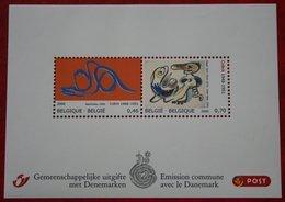 CoBrA (Alechinsky - Jorn) Art OBC N° 3563-3564 (Mi 3613-3614 Bl 114) 2006 POSTFRIS / MNH ** BELGIE / BELGIEN / BELGIUM - Belgien