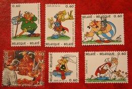 Asterix Cartoon OBC N° 3433-3438 (Mi 3481-3486) 2005 POSTFRIS MNH ** BELGIE / BELGIEN / BELGIUM - Belgien