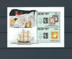 BHUTAN, 1990, Stamp World London'90  S-s. MNH - Bhoutan