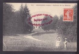 Q1094 - ORSENNES Chateau De La Marche - Indre - Francia