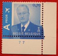 0.70 Euro Koning Albert II OBC N° 3417 (Mi 3465) 2005 POSTFRIS MNH ** BELGIE BELGIEN / BELGIUM - Belgien