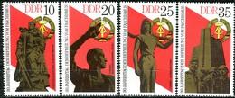 DDR - Mi 2038 / 2041 - ** Postfrisch (A) - Befreiung Vom Faschismus - DDR