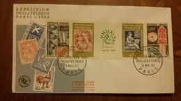 Premier Jour  FDC..   PHILATEC  PARIS  1964 - FDC