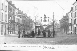 SINT-GILLIS - L'AVENUE DU ROI - Belgique