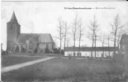 ST-JANS-HEMELVEERDEGEM - KERK EN KERKPLAATS - Belgique