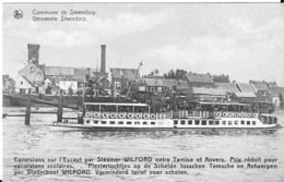 STEENDORP - STOOMBOOT WILFORD  - PLEZIERVAART TUSSEN TEMSCHE EN ANTWERPEN - Belgique