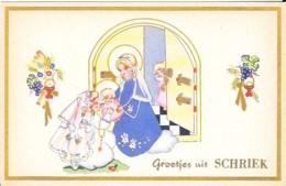 SCHRIEK - GROETJES UIT - Belgique