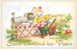 SAINT-AMAND-LEZ-PUERS  - VRIENDSCHAP UIT - Belgique