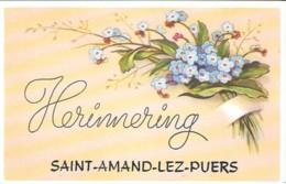 SAINT-AMAND-LEZ-PUERS  - HERINNERING - Belgique