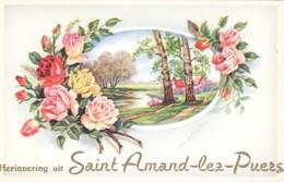 SAINT-AMAND-LEZ-PUERS  - HERINNERING UIT - Belgique