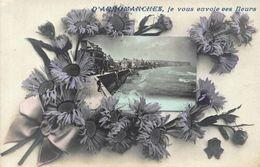 France D'Arromanches Je Vous Envoie Ees Fleurs Panorama Promenade Postcard - France