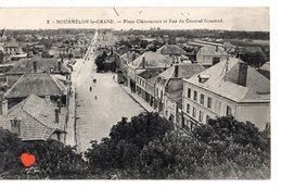 34405-ZE-51-MOURMELON-le-GRAND-Place Clémenceau Et Rue Du Général Gouraud - Mourmelon Le Grand