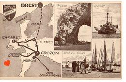 34404-ZE-29-COTES DE BRETAGNE--BREST-------------multivues - Brest