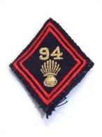 Ecusson Militaire Tissu/Patch - 94ème Régiment D'Infanterie - Military Badges P.V. - Ecussons Tissu