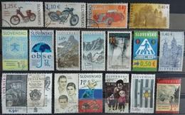 120 Used Postage Stamps, Slovakia (2009-2019) - Slovaquie