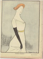 N°253 Du 9 Septembre 1899 LE RIRE Yvette GUILBERT Par CAPIELLO - 1850 - 1899