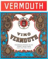 "07747 ""VINO VERMOUTH - EMBOTELLADO POR MONTEQUIN S. A."" ETICH. ORIG. - Etichette"