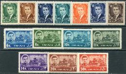 Iran 1962. Michel #1126/39 VF/MNH. Mohammad Reza Shah Pahlavi, Achaemeniden Palace. (B13) - Architecture