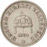 Monnaie, Hongrie, Franz Joseph I, 20 Fillér, 1894, Kormoczbanya, TTB, Nickel - Hongrie